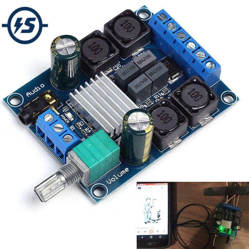 2x50 w TPA3116D2 Numérique Amplificateur de Puissance Conseil Double Canal Stéréo Amplificateur Module DC 4.5-27 v