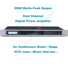 Professional Dual Channel 5000 Watts Digital Power Amplifier AMP Stereo MICWL GB250
