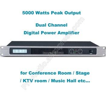 Professional Dual Channel 5000 Watts Digital Power Amplifier AMP Stereo MICWL GB250