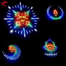Beautiful dance Light cubeed for birthday gift ,led electronic diy kit