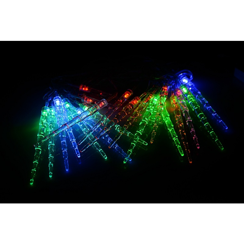 Modeling String lights Small icicles 4M AC110V 220V holiday led lighting waterproof outdoor decoration christmas light