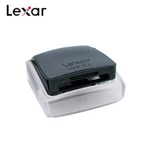 Image 2 - 100% الأصلي ليكسر المهنية 2 في 1 USB 3.0 قارئ بطاقات عالية السرعة المزدوج فتحة قارئ ل SDHC SDXC SD بطاقة بطاقة CF