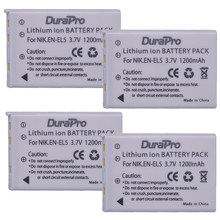4 stks EN-EL5 EN EL5 EnEl5 Digitale Batterij voor Nikon Coolpix P4 P80 P90 P100 P500 P510 P520 P530 P5000 p5100 5200 7900 P6000 3700
