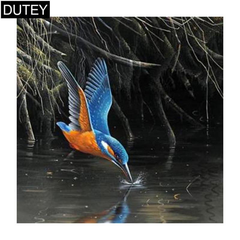 Full Square Round Drill 5d Diy Diamond Painting Bird Prey Embroidery Cross Stitch Mosaic Home Decor Gift Jcc Round Drill 5d Diy Diamond5d Diy Aliexpress