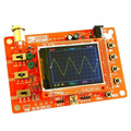 "DSO138 2.4"" TFT Digital Oscilloscope Kit DIY parts ( 1Msps ) with probe + case"
