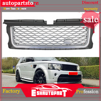 For Styling tuning Auto parts Autobiography style Upgrade Front Middle Grille Grill for Land Range sport Rover 2005 2009 year