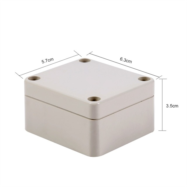 Waterproof Plastic Enclosure Box Electronic Project Instrument Case Electrical Project Box Outdoor Junction Box Housing