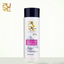 PURC Brazilian Keratin Straightener Hair Treatment Contain 8% Formalin For Treatments Repair Damaged Make Hair Smoothing Product