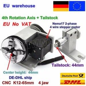Image 2 - EU K11 65mm 3 klauwplaat 65mm 4th As & Losse Kop CNC scheidslijn hoofd/Rotatie As voor CNC router houtbewerking graveermachine