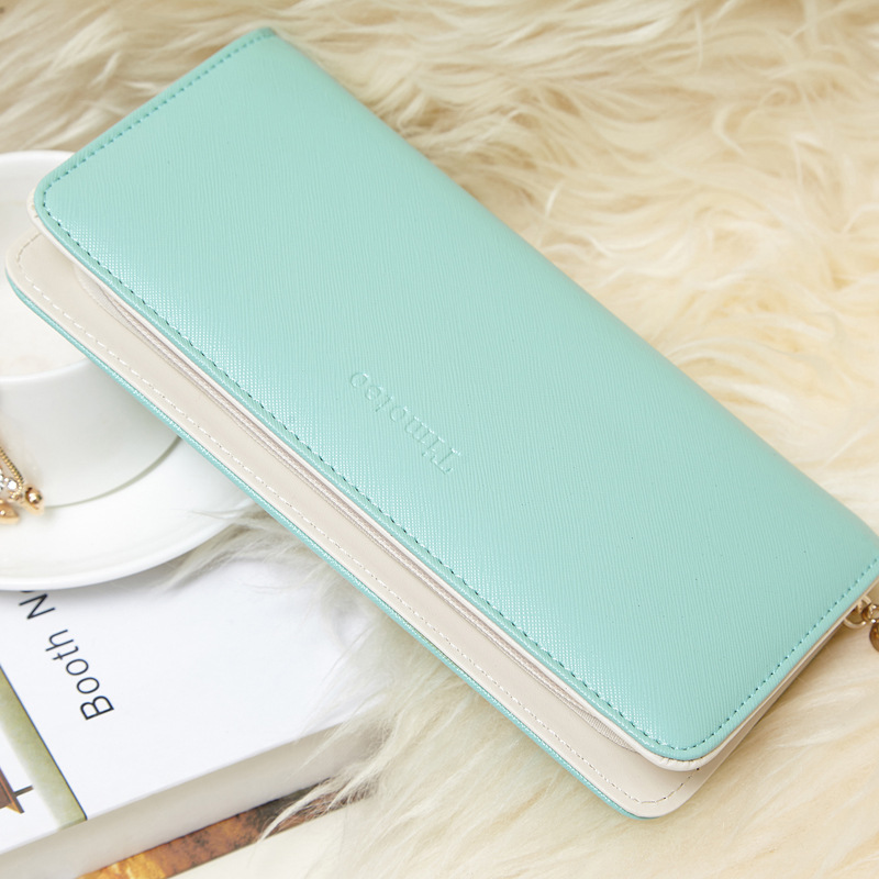 DUDINI Hot Sale Fashion Women Wallet PU Leather 4 Colors Clutch Wallets Cute Wallet Ladies Long Day Clutch Coin Purse 2016 hot sale fashion women wallets 6 colors matte pu leather zipper soft wallet ladies long clutch purse phone bag card holder