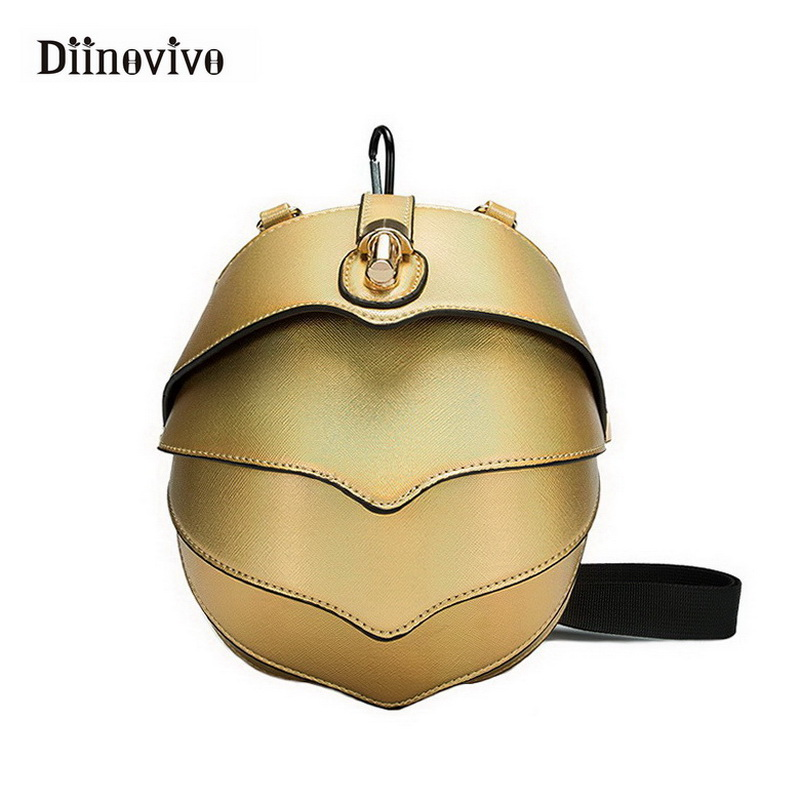 5834ffbf36 Detail Feedback Questions about DIINOVIVO New Messenger Bag Pangolin Women  Chest Bag Unisex Locks for Bags Small Exclusive Punk Waist Bag for Girls  WHDV0360 ...