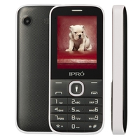 Original IPRO I324F 2 4 Dual SIM GSM Unlock Mo Bile Phone With English Portuguese Spanish