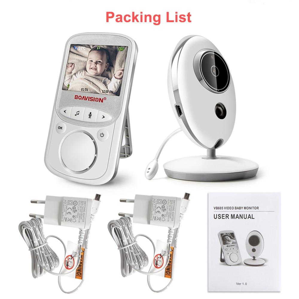 Wireless LCD Audio Video Baby Monitor VB605