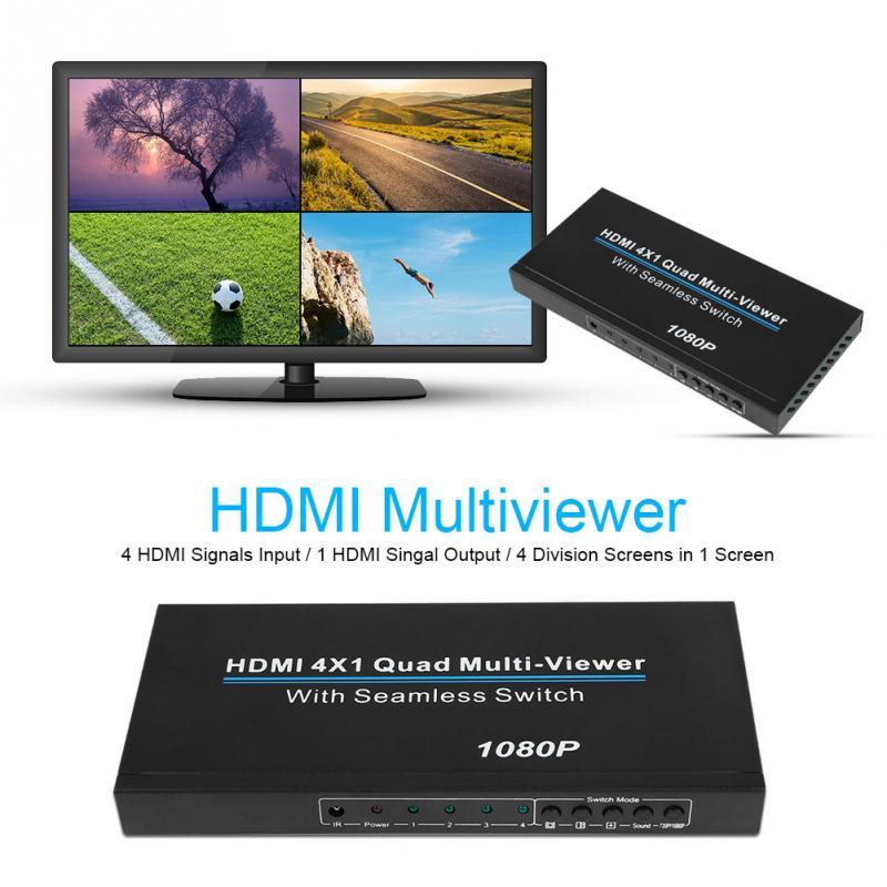 NK 941 4 ใน 1 1080 จุด HDMI Multiviewer Quad HDMI 1.3a/HDCP1.2 HDMI Quad Multiviewer 100 240 โวลต์สำหรับ EU US Plug-ใน สาย HDMI จาก อุปกรณ์อิเล็กทรอนิกส์ บน AliExpress - 11.11_สิบเอ็ด สิบเอ็ดวันคนโสด 1