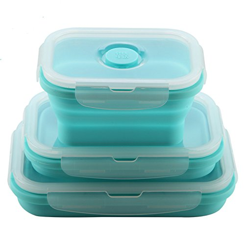 Silicone Food Storage Container with Lid BPA FreeLunch Box