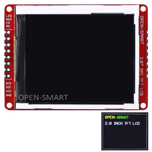 2.0 inch 176 * 220 Serial SPI TFT LCD Shield Breakout Module with PAD and SMD pins for Arduino Nano Pro Mini UNO R3 Mega2560