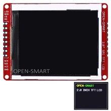 2,0 pulgadas 176*220 serie SPI TFT LCD Shield Módulo de adaptación con PAD y SMD pines para Arduino Nano Mini Pro UNO R3 Mega2560