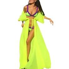 Traje de Baño Bikini Cover Up Tops Mujeres Gasa de Baño Bikini Cover Up Vestido de Traje de Baño Ropa de Playa traje de Baño