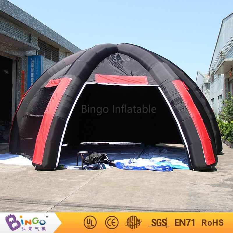 8 diameter outdoor inflatable spider event tent,inflatable spider tent for advertising BG-A1009 toy tent 6x3mh inflatable spider tent advertising inflatable tent inflatable party tent outdoor events tent