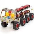 Montar DIY parafuso de metal do carro, Kits de Construção de Caminhões Veículo Carros Modelismo Aprendizagem Educação Toy decoração presente Das Crianças Dos Miúdos