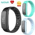 I6 iwown hr smartband inteligente bluetooth 4.0 monitor de freqüência cardíaca banda pulso pedômetro chamada lembrar mensagem push pk i6 pro
