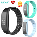 IWOWN i6 HR Bluetooth 4.0 Smart Band Heart Rate Monitor Wrist Smartband Pedometer Call remind message push PK i6 pro