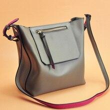 2016 new style leisure genuine leather Women Handbag high quality genuine Leather female Shoulder Bag Messenger Bag