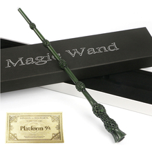Dumbledore Harri Potter Led lighting Ron Hermione Voldemort Luan Snape Sirius Magic Wand Hogwarts Train Ticket magic trick toys