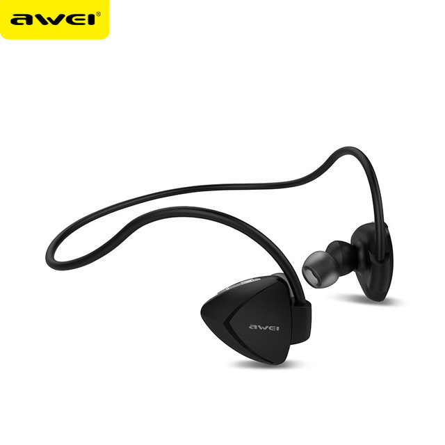 Awei A840BL Wireless bluetooth Earphones Sport Sweatproof Earphone With Microphone Noise Reduction Neckband HiFi Earbuds