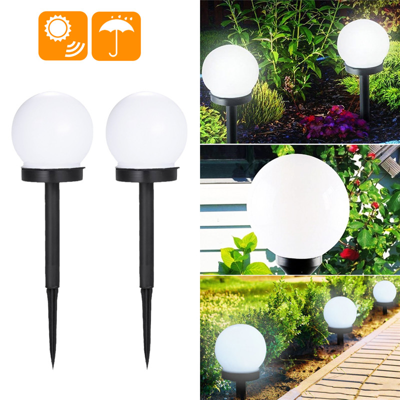 DIDIHOU Solar Lawn Lights Garden Lamp Yard Pathway Light Outdoor Landscape Lighting LED Bulbs