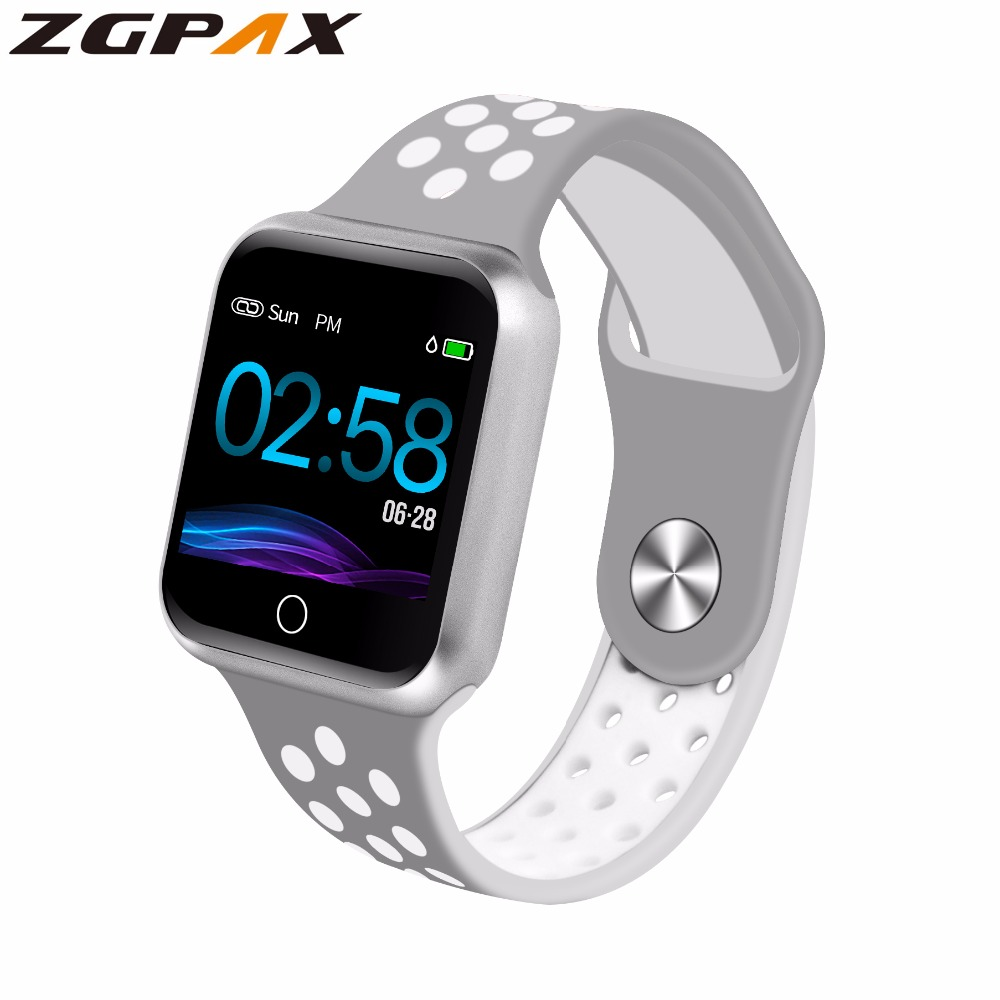 ZGPAX S226 Smart Watch Men Women Fitness Tracker Heart Rate Monitor Smart Bracelet Blood Pressure Pedometer for Android IOS|Smart Watches| |  - AliExpress