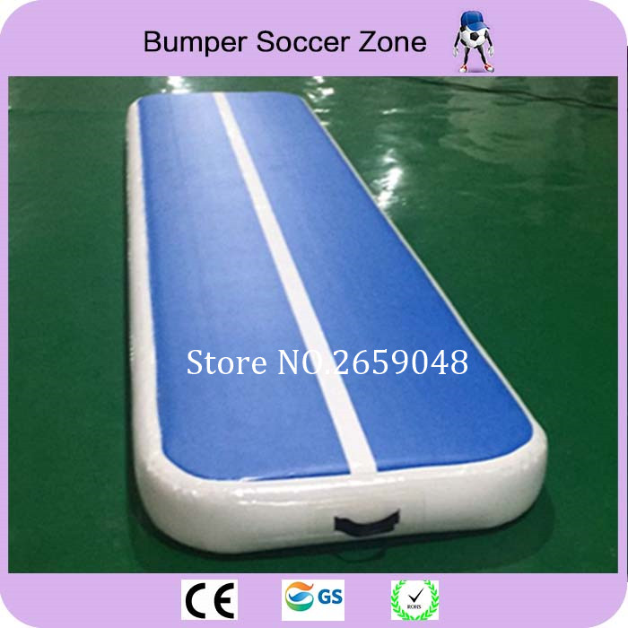 4*1m Inflatable Air Track Inflatable Gymnastics Mat Trampoline Mat Stunt Protection Jumping Mattress Inflatable Mat