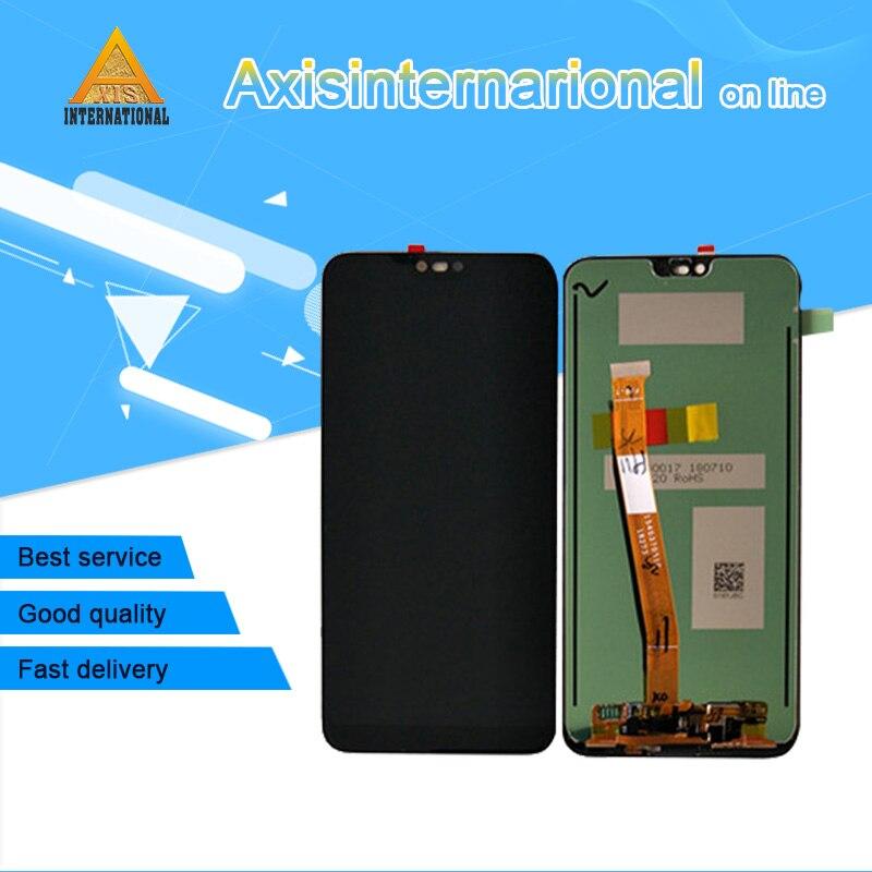 D'origine Axisinternational Pour 5.84 Huawei honor 10 honor 10 LCD écran affichage + tactile digitizer avec empreintes digitales avec outils