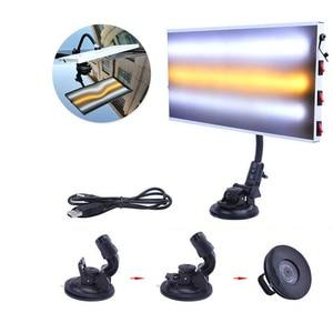 Image 2 - Светодиодный свет 3 StripCar лампа доска для безболезненного удаления вмятин от града комплект