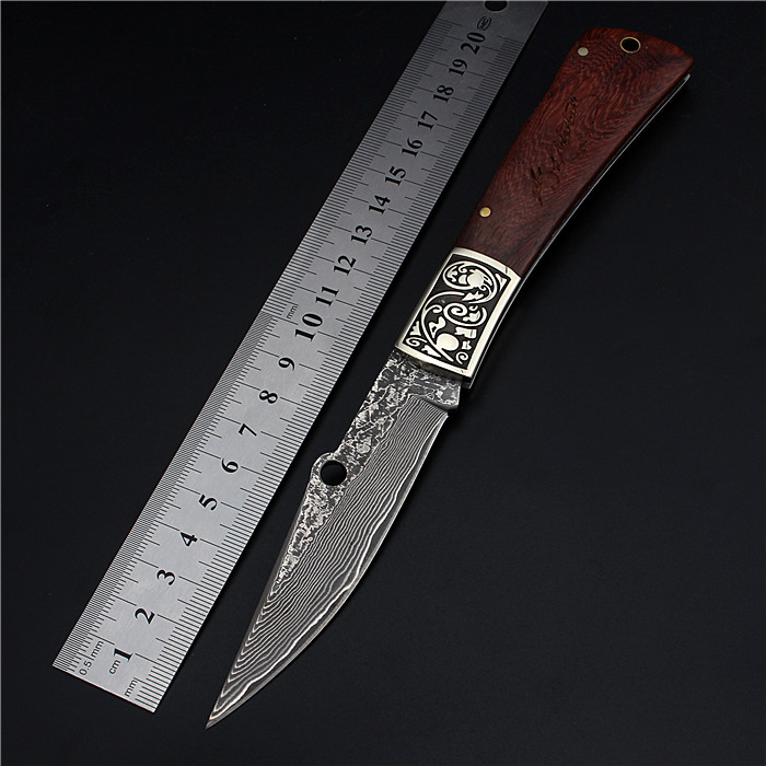 2017 New Hot Sale Damascus Steel Outdoor Fixed Folding Hunting Knife Self-defense High Hardness Survival Camping Tactical Knives 2017 new free shipping fixed tactical outdoor army knives self defense high hardness survival camping hunting knife black gold