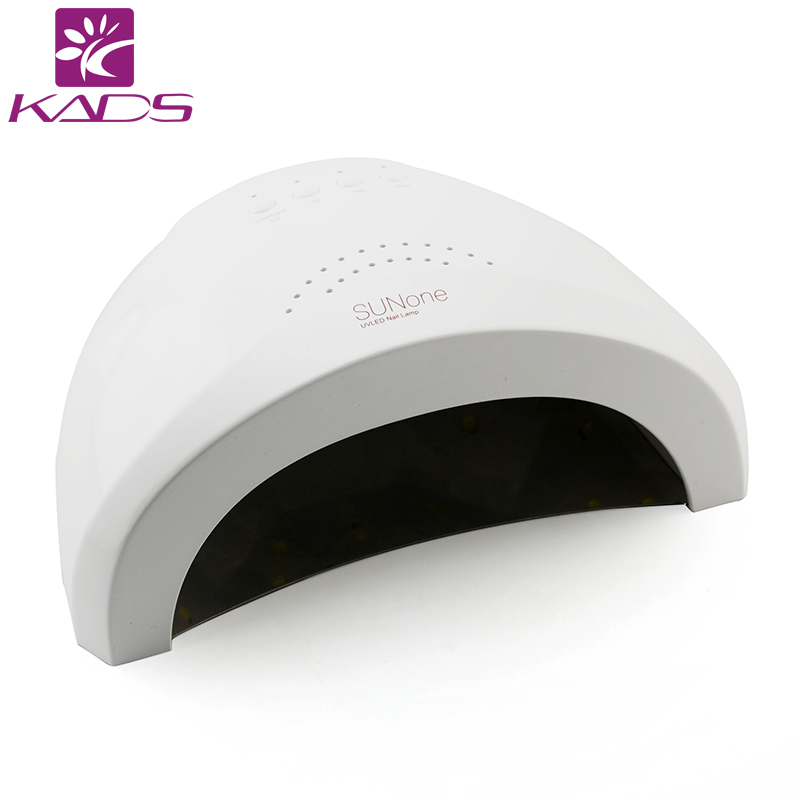 KADS White Light Professional 48W UV LED Nail Lamp Nail Dryer Polish Machine for Curing Nail Gel Art Tool new pro 48w nail lamp manicure dryer fit uv led builder gel all nail polish nail art tools sun5 professional machine
