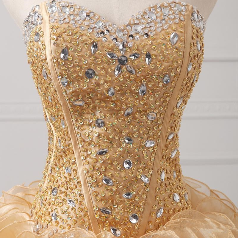 2015-New-design-beaded-stones-sweetheart-dark-champagne-two-piece-quinceanera-dresses-short-dress-with-floor (5)