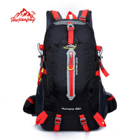 Outdoor Backpack 40L Travel Climbing Backpacks Waterproof Rucksack Mountaineering bag Nylon Camping Hiking Backpack