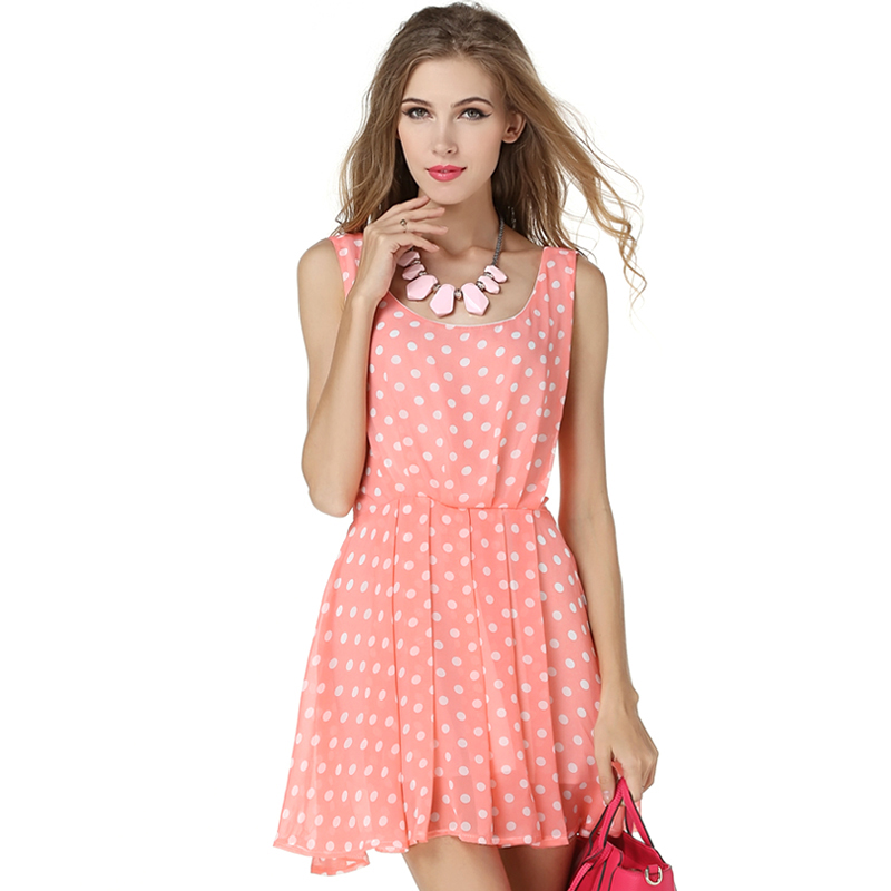 Popular Pink Casual Dress-Buy Cheap Pink Casual Dress lots from ...