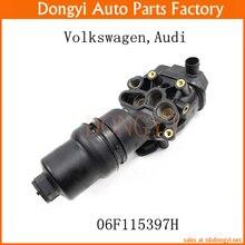 Новый Двигатель Масляный Фильтр в Сборе Жилья OEM 06F115397H 06F 115 397 H для VW Volkswagen Audi