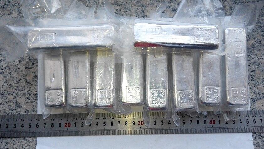 Indium In99.995% Precision Indium Block Pure Indium High Purity Indium Bar One Gram One Pack