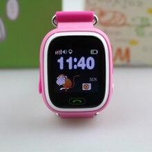 Q90 Smart Bébé GPS Montre Écran Tactile Wifi Locator Tracker Enfant Smartwatch Enfants Poignet Watchs PK Q80/Q50 Russe/anglais