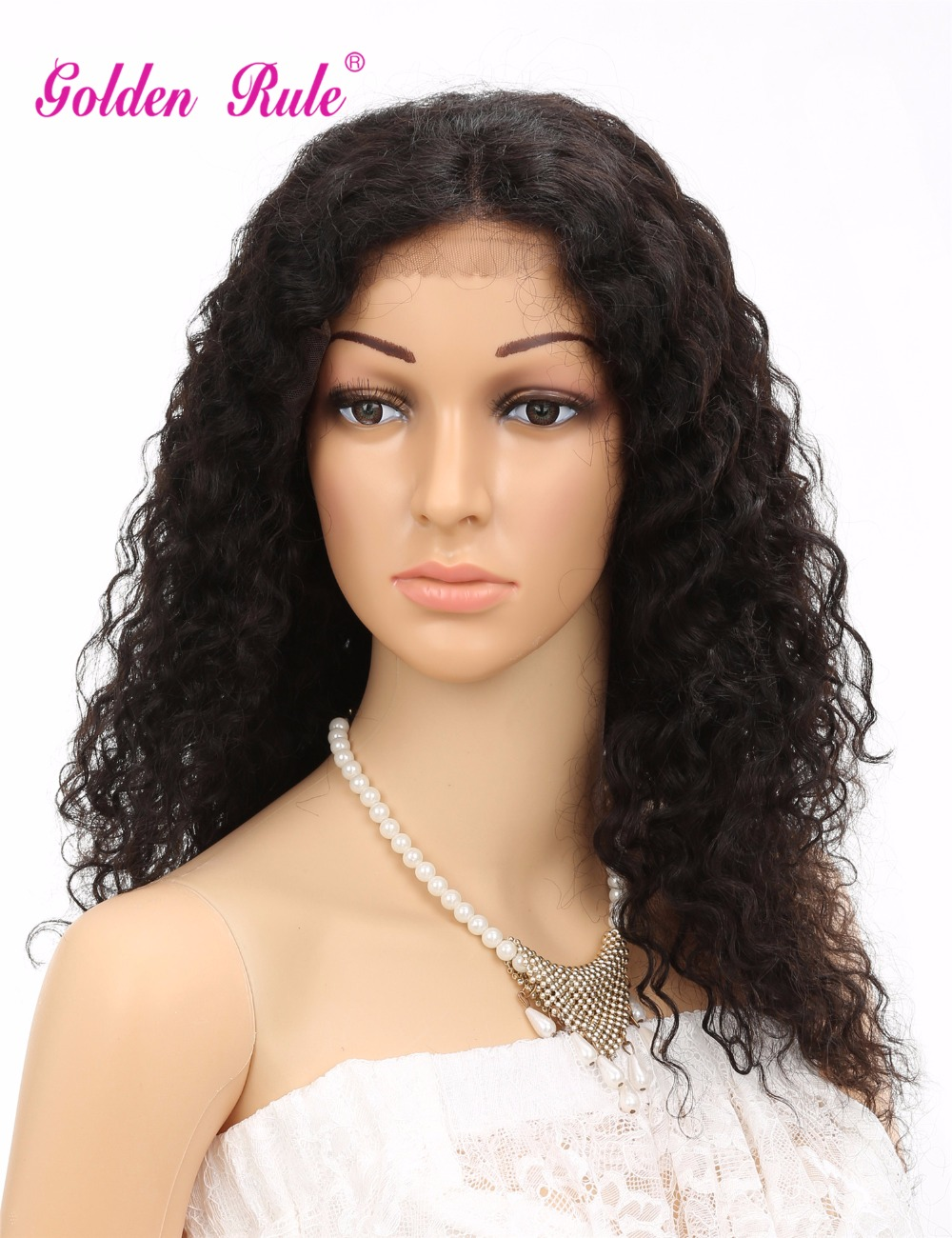 7A virgin hair wigs Glueless Brazilian Hair Curly Wig   full lace human hair wigs & Lace Front no shedding and tangle free