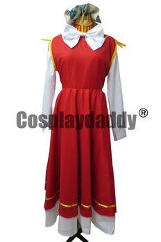 Touhou Project Perfect Cherry Blossom Chen Cosplay Costume Dresses M006