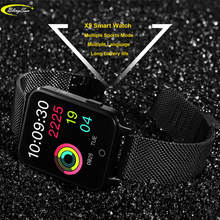 X9 1.54 inch Multi-Touch Screen IP68 Waterproof Smart Watch Heart Rate Monitor Smartwatch Sports Smart Bracelet for IOS Android