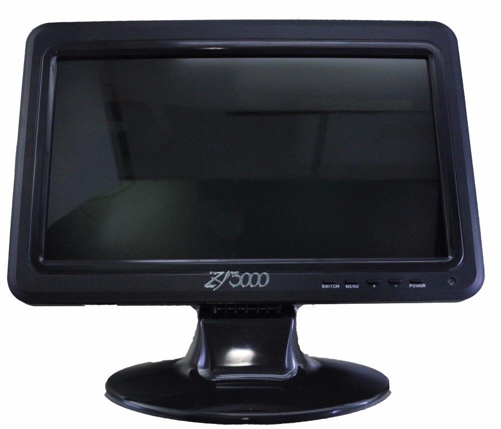 2017 oferta especial venta nuevo 10.1 pulgadas IPS ultra delgado del coche video USB pantalla táctil Monitores con VGA AV en altavoz incorporado