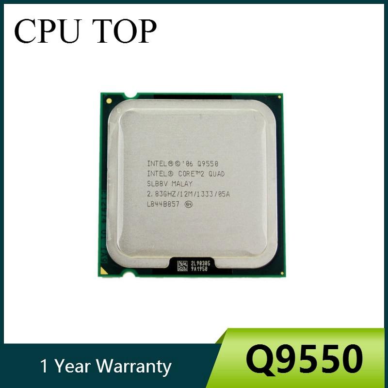 Processador intel core 2 q9550 slawq slb8v 2.83 ghz 12 mb 1333 mhz soquete 775 cpu 100% trabalho