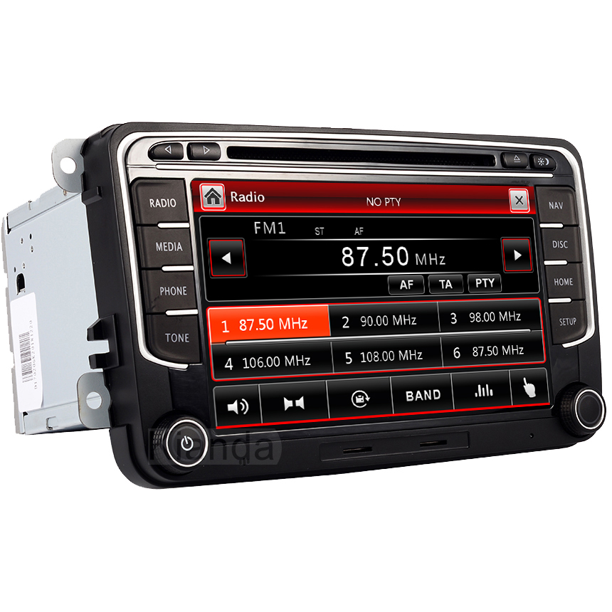 Image 5 - RNS 510 car radio for Volkswagen Golf Polo Passat b6/b7 Tiguan octavia with 3G GPS Bluetooth Radio USB SD Steering wheel Control-in Car Multimedia Player from Automobiles & Motorcycles