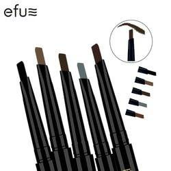 5 цветов 24 часа стойкий для бровей карандаш мягкий и гладкий модный глаз 0,4g Lotus серия макияж бренд EFU #7046-7050