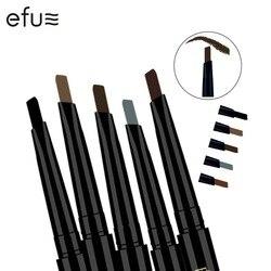 5 цветов, 24 часа, стойкий карандаш для бровей, мягкий и гладкий, модный, для глаз, 0,4 г, лотос, серия, макияж, бренд EFU #7046-7050